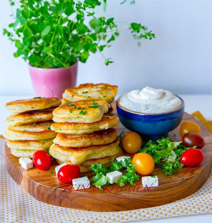 Pannkakor med fetaost - ZEINAS KITCHEN