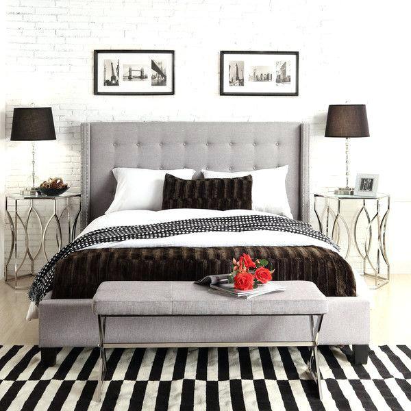 Grey Upholstered Headboard Bedroom Ideas Topdekoration Com Bedroom Furniture Inspiration Cream Bedroom Furniture Grey Headboard