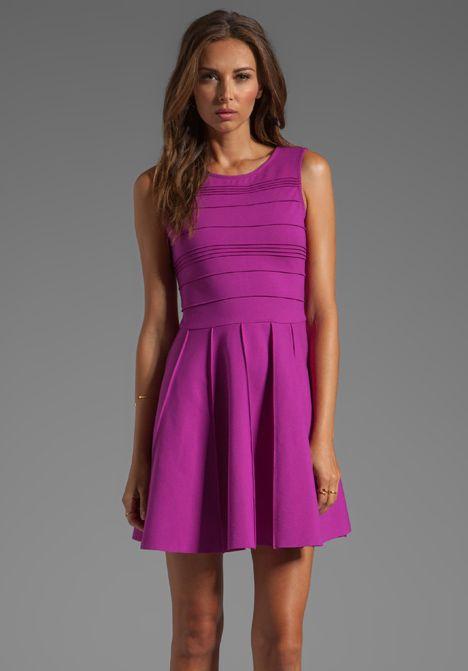 PARKER Lacey Dress in Violet
