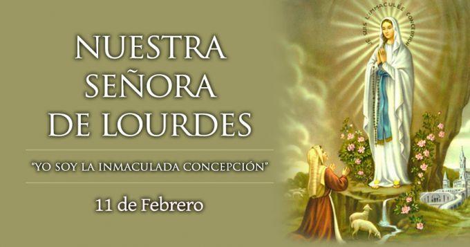 """Cada 11 de febrero la Iglesia celebra la Fiesta de Nuestra Señora de Lourdes, quien en una de sus apariciones le dijo a Santa Bernardita: """"No te prometo hacerte feliz en este mundo, sino en el próximo""""."""