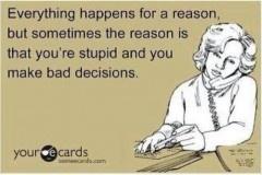 It's a reason