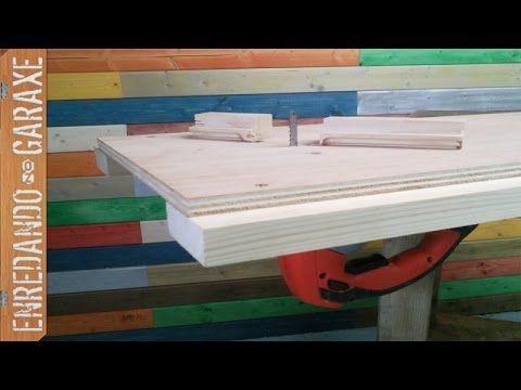 Uniendo sierra de calar al tablero para usarla de sierra de calar de mesa, de forma que sea desmontable y muy sencillo ponerla y quitarla del tablero. Solo n...