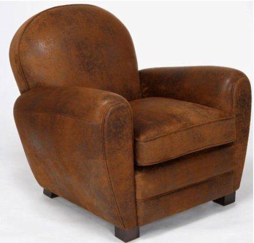 Le fauteuil club est un meuble français apparu au début du XXe siècle sous le nom de « fauteuil confortable » avant de prendre son nom actuel. Il est dit « confortable » en opposition au fauteuil « de style », plus droit et moins enveloppant.  La présence du terme « club » dans la dénomination est peut-être à mettre en rapport avec les gentlemen's clubs français et anglais existant dans les colonies.