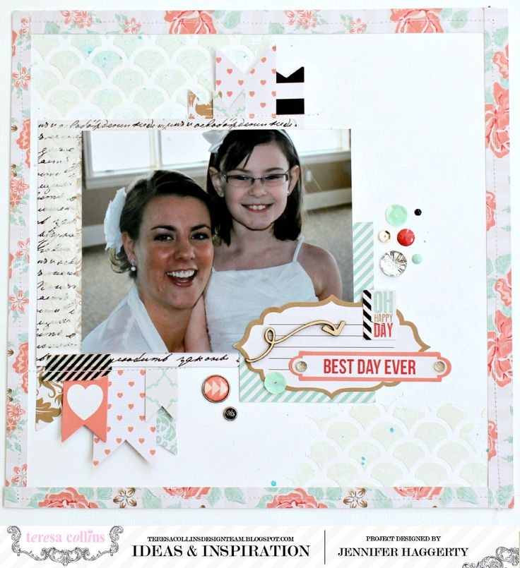 Best Day Ever - Teresa Collins Designs - Save The Date Collection