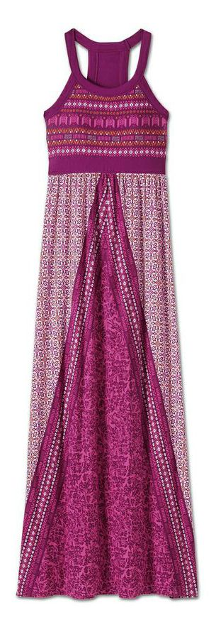Comfy and Festive Maxi Dress for Spring Break or a trip to the beach.