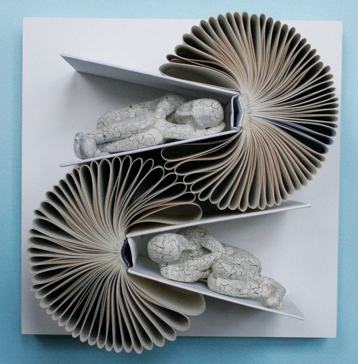 """The ultimate when it comes to """"curling up with a good book""""~ By Daniel Lai book art"""