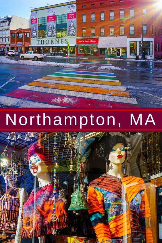 A great weekend getaway from Boston is Northampton, MA in Central Massachusetts. Check out the art, food, and fun in this beautiful mountain college town!