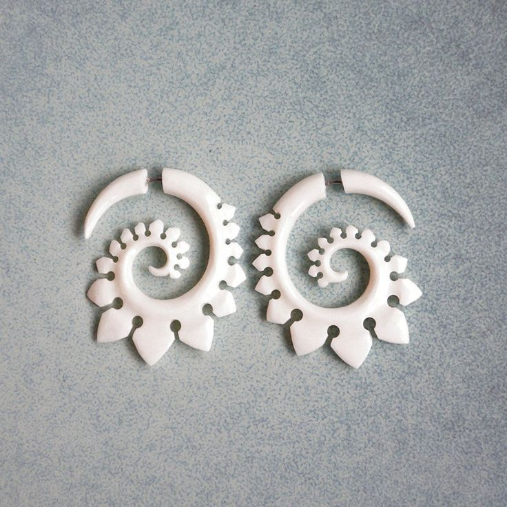 Earrings - 40 mm (700 руб./шт.)