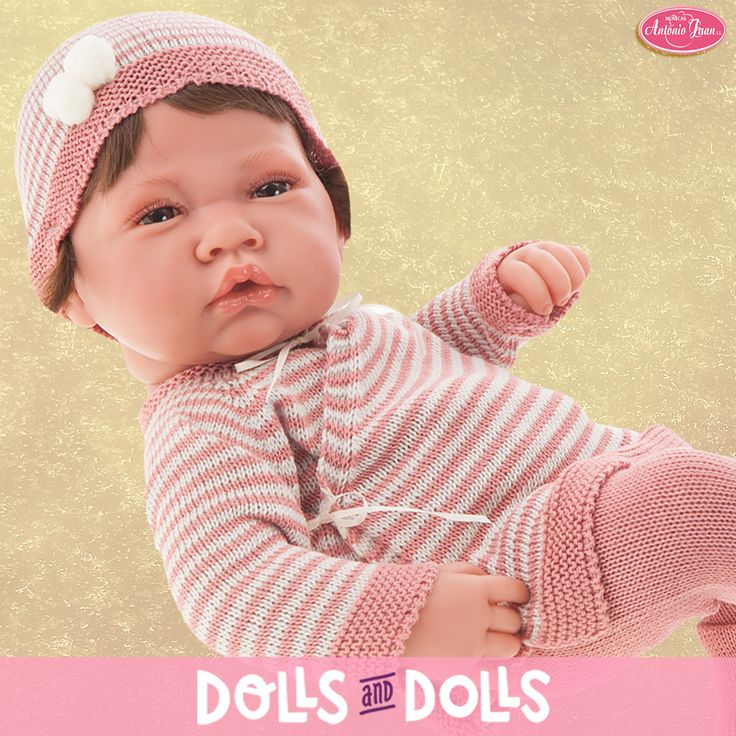 ¡EN DOLLSANDDOLLS.COM ENCONTRARÁS UNA GRAN VARIEDAD DE #MUÑECAS ANTONIO JUAN! Continuamos con las novedades 2017 de la marca #AntonioJuan. Esta dulce recién nacida mide 42 centímetros, tienen el cuerpo de vinilo, está sexada y como ya hacía tiempo este año Antonio Juan ha fabricado #muñecos recién nacidos con pelito para que disfrutes peinándolos. Preciosa ¿verdad? #Dolls #AntonioJuanDolls #DollsMadeInSpain #Bonecas #Poupées #Bambole #Novedades #MuñecasAntonioJuan #Muñeca