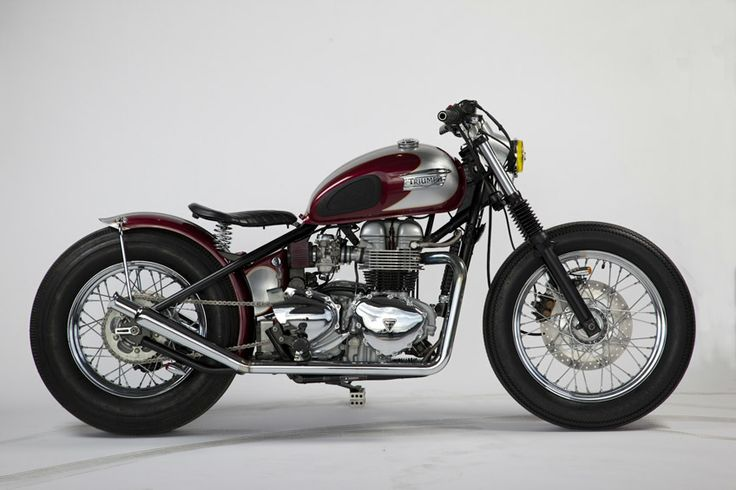 hinckly triumphy t100 hardtail custom by pangea speed. Black Bedroom Furniture Sets. Home Design Ideas