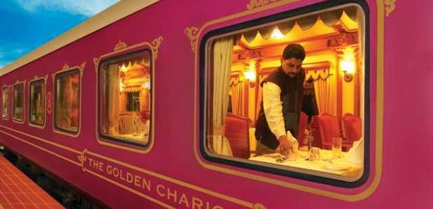 Luxurious Train Ride On the Golden Chariot