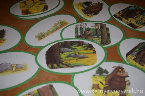 Gruffalo sequencing cards (just click on the image in the blogpost!)