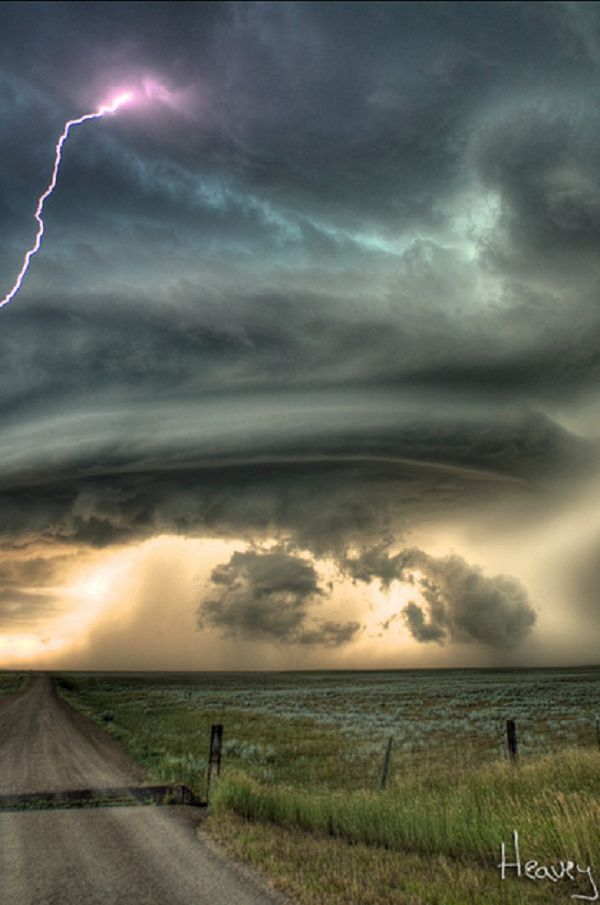 Photos of Thunder Storms by Sean R. Heavey