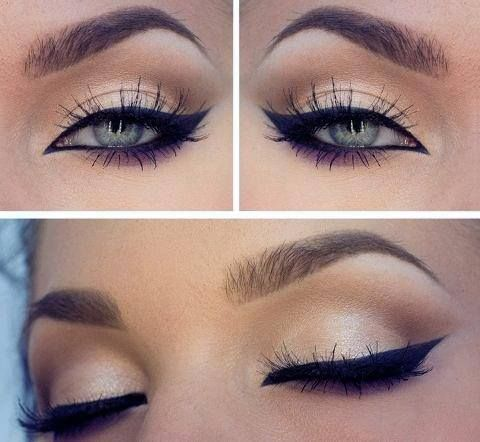 eyeliner, I'm personally too scared to line my entire eye. I think it makes my eyes look way too small.