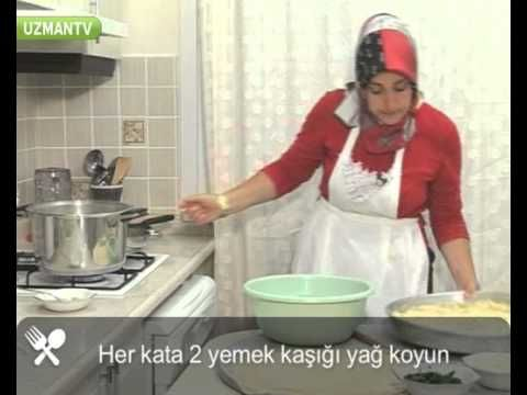 Su böreği nasıl yapılır - YouTube