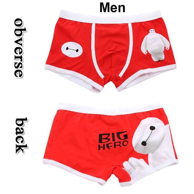 high quality cotton underpants cute cartoon underwear breathable comfortable men boxer shorts cartoon panties couple mens boxers