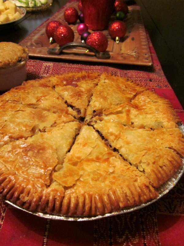 Family tradition: Meat Pies on Christmas