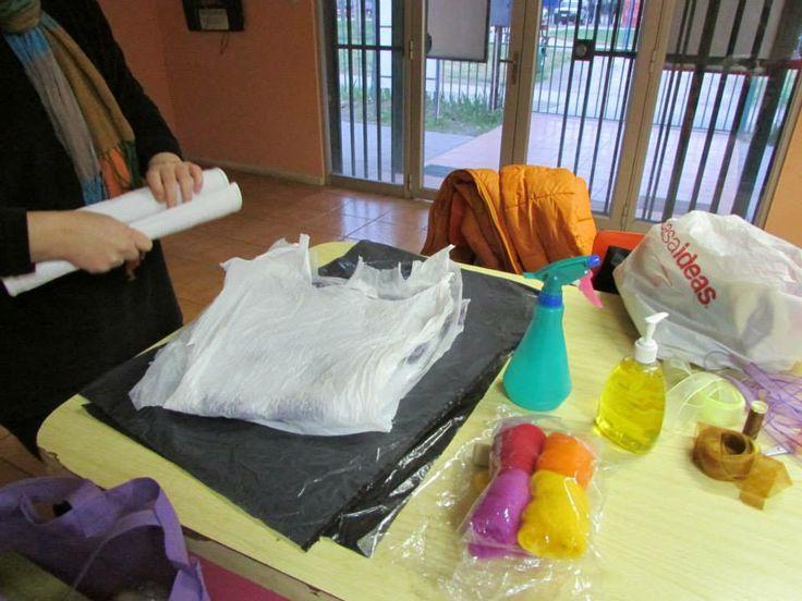 Preparando los Materiales