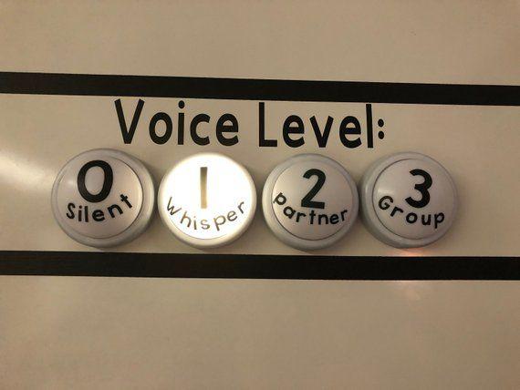 Voice Level Lights Classroom Ideas Classroom