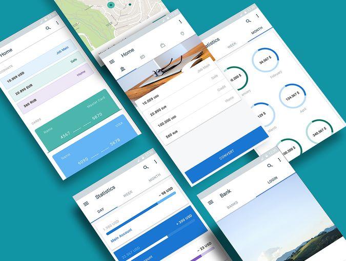 Material UI Kit: Money