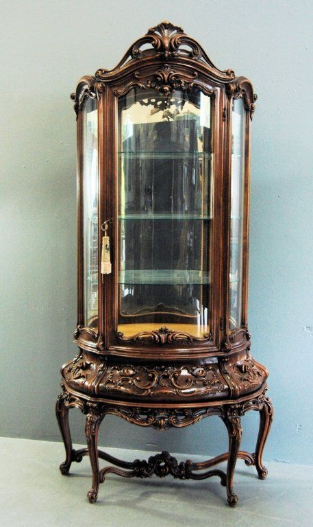 Large Bombe Curio Cabinet on - 140 Best ANTIQUE CURIO CABINET!!! Images On Pinterest Antique