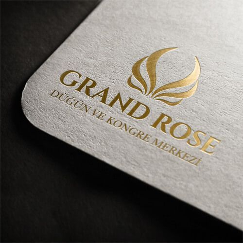 Grand Rose Düğün Salonu - Logo Tasarımı - Logo Design - Wedding Hall