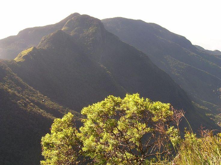 Hill country NP Horton plain view #SriLanka