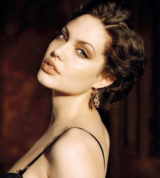Image Detail for - ... Jolie short curly hair 269x300 Angelina Jolie short curly hair