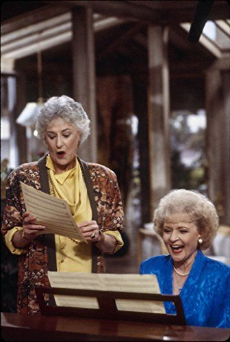 Bea Arthur and Betty White in The Golden Girls (1985)