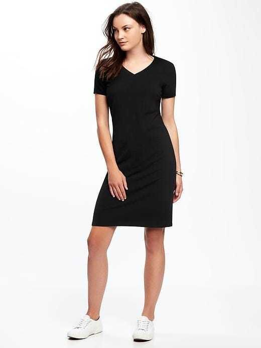 35416a1b4fbc Old Navy Fitted V-Neck Tee Dress for Women