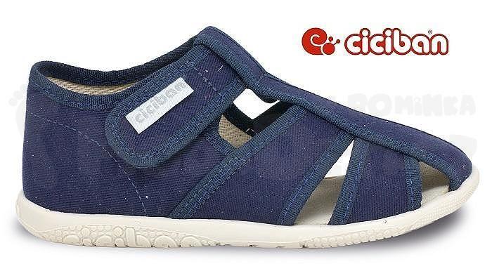 1d06aab5c Moda děti - Papuče Ciciban NAVY 77440 - detské oblečenie a obuv    modadeti.sk
