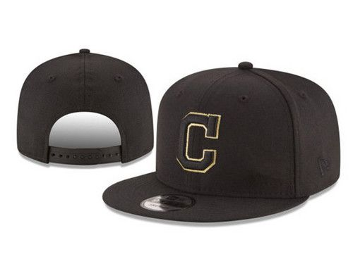 Cleveland Indians MLB Metal Man Snapback Hats Black|only US$6.00 - follow me to pick up couopons.