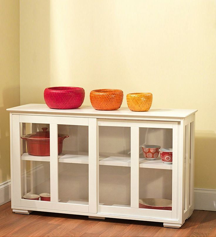 Buy Crockery Cabinets Online at Pepperfry - Exclusive Range of Modern Designs of Kitchen Crockery Cabinet at Best Price.