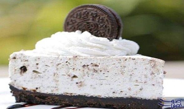 طريقة عمل تشيز كيك الاوريو بخطوات بسيطة المقادير بسكويت أوريو 300 غراما مطحون 8 حبات للزينة للقاعدة الزبدة 75 غراما Food Cake Shop Cake