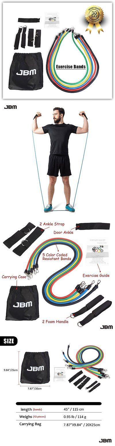 Resistance Trainers 79759: Resistance Tube Workout Bands Fitness Exercise Set Pull Strength Loop Training -> BUY IT NOW ONLY: $47.1 on eBay!