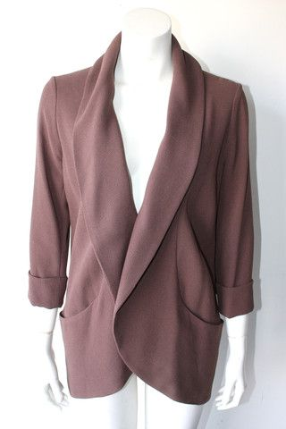 Wilfred Brown Blazer Size 4 $75