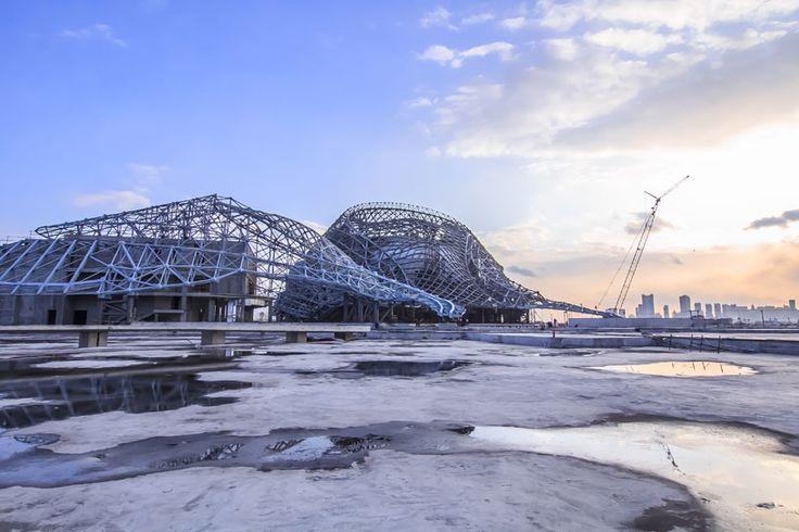 harbin cultural center by MAD architects - designboom | architecture & design magazine