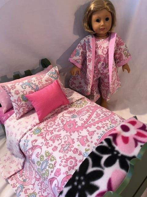 Brooklyn Ii 9 Piece Doll Bedding And P J Set Doll Beds