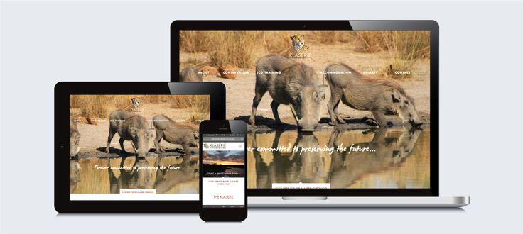 Klaserie Private Nature Reserve: Responsive Website Design, Development and Management by Electrik Design Agency http://electrik.co.za/