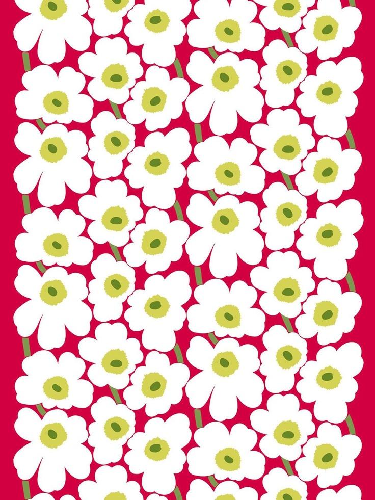 marimekko fabric pieni unikko patterned 310 marimekko fabric shannon furniture patterns. Black Bedroom Furniture Sets. Home Design Ideas