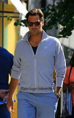 Roger Federer -How hot does he look in this pic?