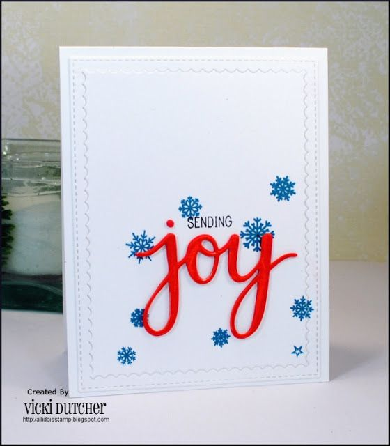 All I Do Is Stamp-- Designs by Vicki Dutcher