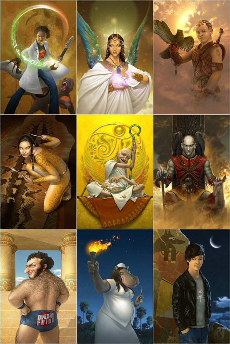 egyptian gods and goddesses anime | Egyptian Gods - The Kane Chronicles-- so I didn't draw these but I love the Kane Chronicles..... so yeah.