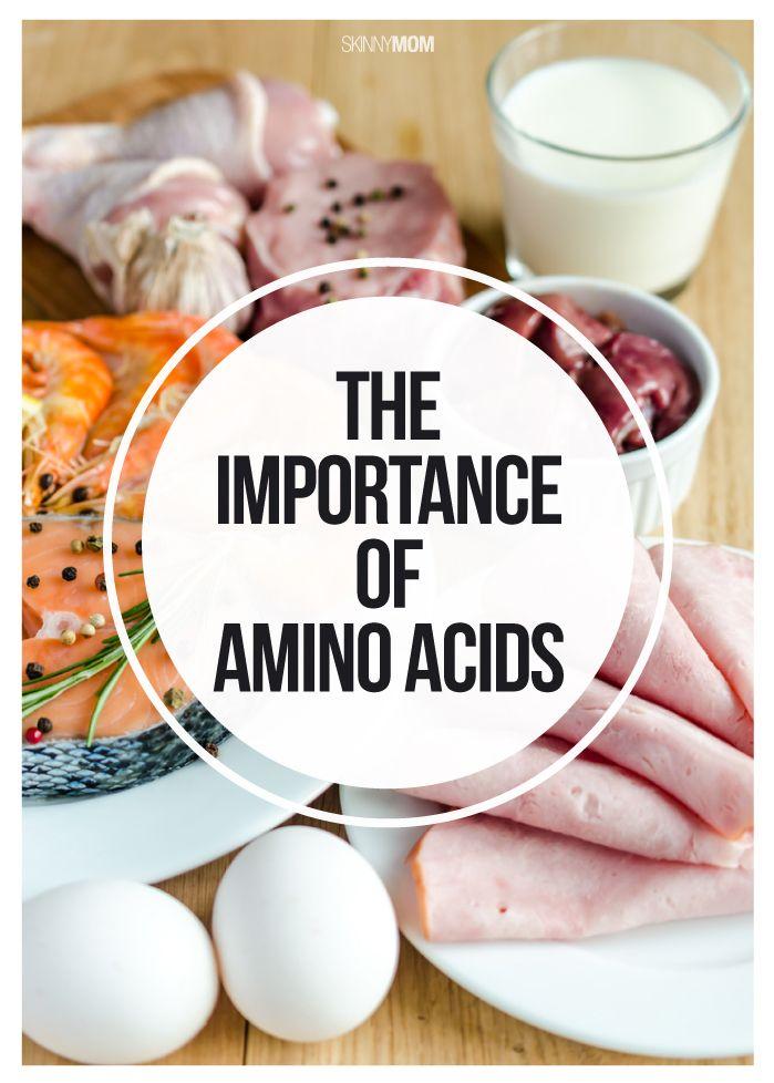 The health benefits of amino acids