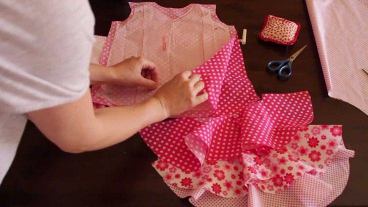 Tutorial costura- Vestido de flamenca estilo Marisol 1/5 - patrones