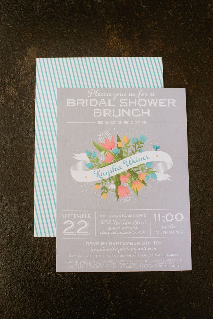 fairytale bridal shower invitation wording%0A Bridal Shower Brunch by Brandi Welles