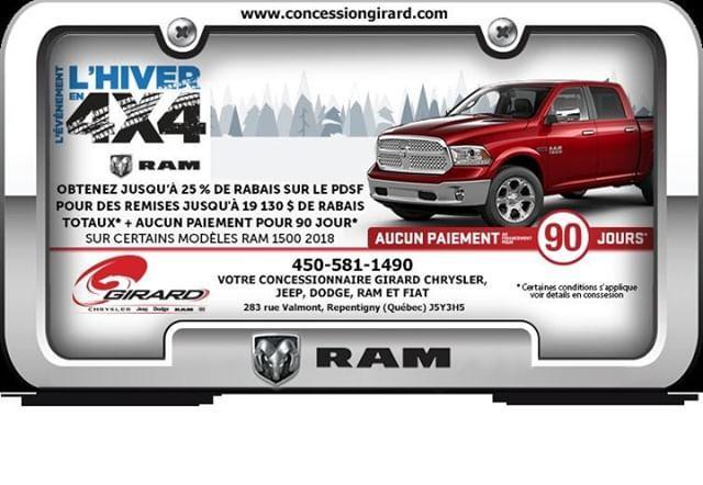 Achat Ou Location De Certains Vehicule Ram 1500 2018 De Chez