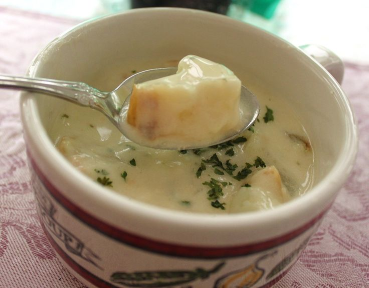 Roasted Garlic and Potato Soup Recipe: What's Cookin' Italian Style ...