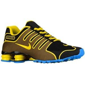 Nike Shox NZ NS - Men's - Black/Italy Blue/Tour Yellow