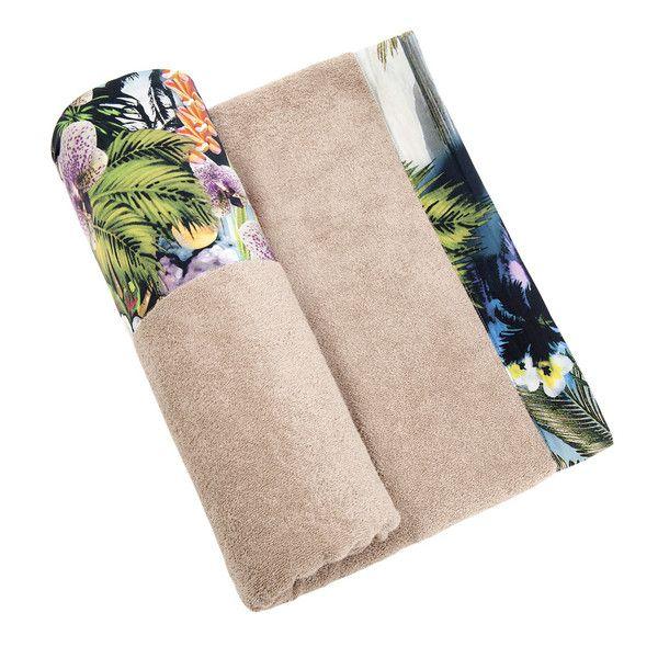 Hawaian Tropic - Beige Towel